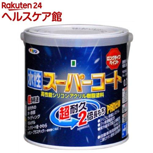 アサヒペン 水性スーパーコート ツヤ消し白(0.7L)【アサヒペン】