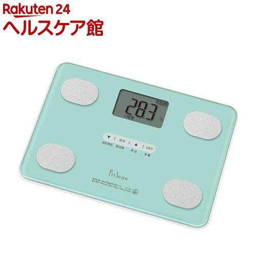 タニタ 体組成計 Fit Scan ミルキーミント FS-102-GR(1台)【タニタ(TANITA)】