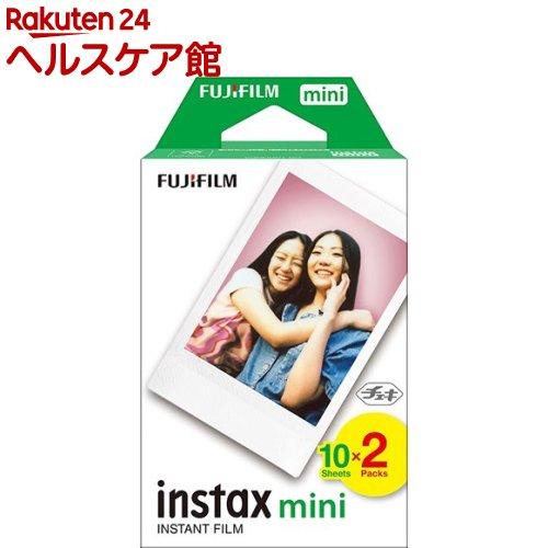 フジフイルム チェキ フイルム2本パック instax mini JP2(10枚入*2)【フジフイルム】