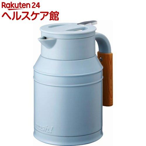 モッシュ! 卓上ポット タンク ターコイズ 1.0L(1コ入)【モッシュ!(mosh!)】