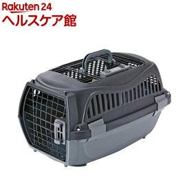 ペティオ 2ドア スマイルキャリー ブラック S(1コ入)【ペティオ(Petio)】