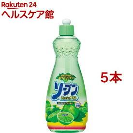 カネヨ ソープンフレッシュ本体(600ml*5コセット)【カネヨ】