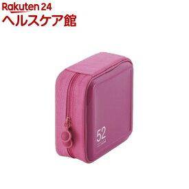 エレコム CD/DVDファスナーケース CCD-H52PN(1コ入)【エレコム(ELECOM)】