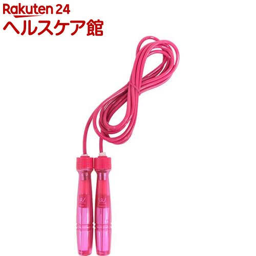 アルインコ ジャンプロープ ショートグリップ 2重跳び ピンク WB007P(1コ入)【アルインコ(ALINCO)】