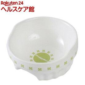 ドギーマン 便利なクローバー陶製食器 Sサイズ(1コ入)【ドギーマン(Doggy Man)】