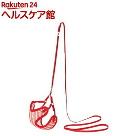 ペティオ ARFaShion ストライプベストハーネスリード Sサイズ レッド(1コ入)【ペティオ(Petio)】