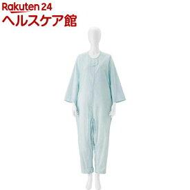 竹虎 介護ねまき ブルー L(1枚)