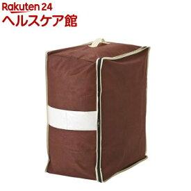 炭入り消臭羽毛布団ケース タテ収納 ダブル用(1コ入)【slide_d3】