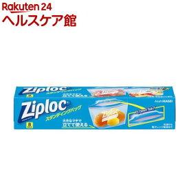 ジップロック スタンディングバッグ(8枚)【more30】【Ziploc(ジップロック)】