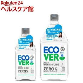 エコベール ゼロ 食器用洗剤 本体+詰替用セット(1セット)【エコベール(ECOVER)】
