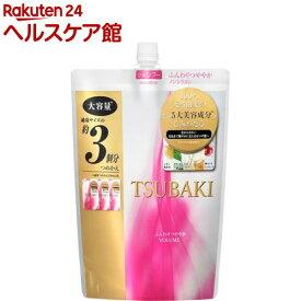 ツバキ(TSUBAKI) ふんわりつややかシャンプー 詰替 大容量(1000mL)【ツバキシリーズ】