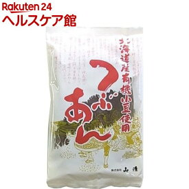 山清 北海道産有機小豆使用つぶあん 33647(200g)【more30】