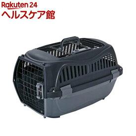 ペティオ 2ドア スマイルキャリー ブラック M(1コ入)【ペティオ(Petio)】