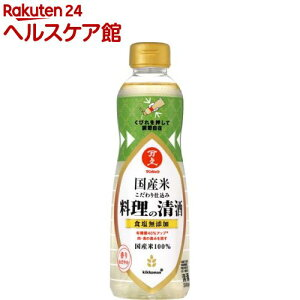 マンジョウ 国産米こだわり仕込み 料理の清酒(500ml)【more30】