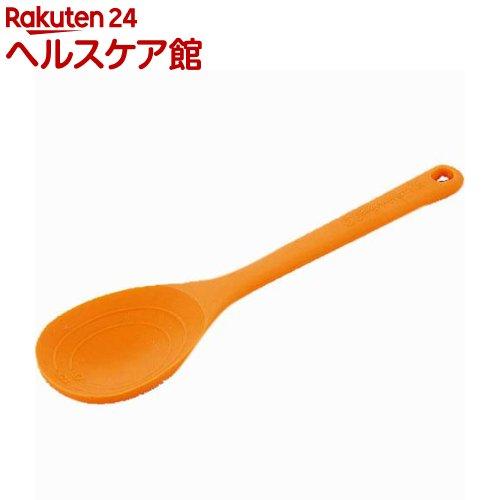 オレンジページスタイル シリコーン計量スパチュラ オレンジ OPS-069(1コ入)【オレンジページスタイル】