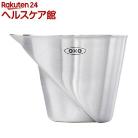 オクソー ステンレス アングルドメジャーカップ ミニ 3112600(1コ入)【オクソー(OXO)】