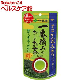 伊藤園 一番摘みのおーいお茶 1200 かなやみどりブレンド(100g)【お〜いお茶】
