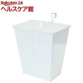 アピュイ ハングポケット フタ付き ホワイト(1コ入)【アピュイ(APYUI)】[ゴミ箱]