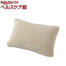 枕カバー 70*43cm用 綿100%(毛羽部分) パイルさわやか 日本製 ベージュ PJ98151697BE(1枚入)【東京西川】