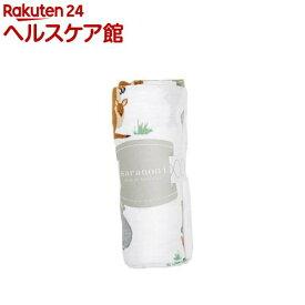 サラノニ バンブーモスリンスワドル ダウンアンダー(1枚)【サラノニ(Saranoni)】
