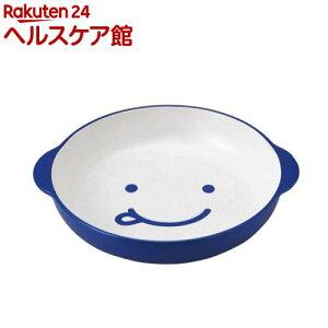 ノーティ キッズカレーパスタ皿 ブルー T-46526(1コ入)
