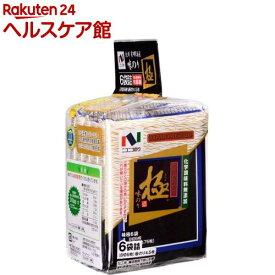 ニコニコのり 味極(8切6枚*6袋)【ニコニコのり】