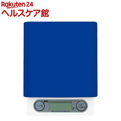 A&D デジタルホームスケール ブルー UH-3201BL(1コ入)【A&D(エーアンドデイ)】