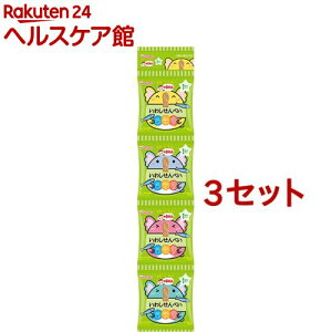 和光堂 1歳からのおやつ+DHA いわしせんべい4連(6g*4袋入*3コセット)