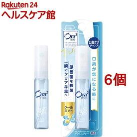 オーラツーミー 薬用マウススプレー クールミント(6ml*6個セット)【Ora2(オーラツー)】