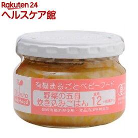野菜の五目炊き込みごはん(100g)【有機まるごとベビーフード】