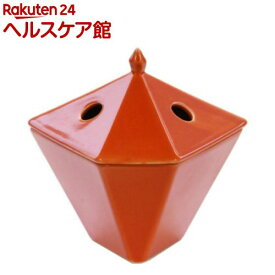 縁香炉 橙(1コ入)【日本香堂】