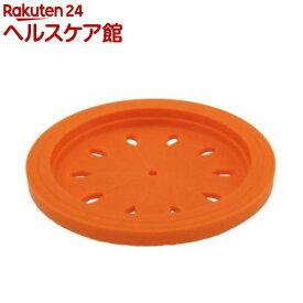 和平フレイズ スキッとシリコーン 排水口カバー 15cm オレンジ SR-4856(1コ入)【スキッとシリコーン】