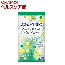 エルモア ピコ トイレットロール 花の香り ダブル 25m(12ロール)【エルモア】[トイレットペーパー]
