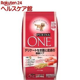 ピュリナワン ドッグ デリケートなお腹と皮膚の健康ケア(4.2kg)【ピュリナワン(PURINA ONE)】[ドッグフード]