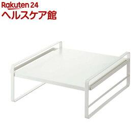 炊飯器ラック プレート ホワイト(1個)