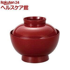 おせちプレート 雑煮椀 クリーンコート 仙才型 朱 500mL(1コ入)