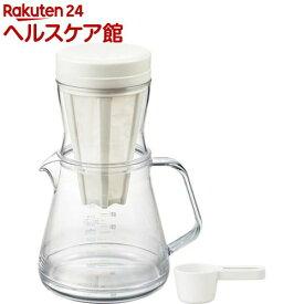 コーヒーサーバーストロン 2WAY ドリッパーセット ホワイト TW-3728(1セット)