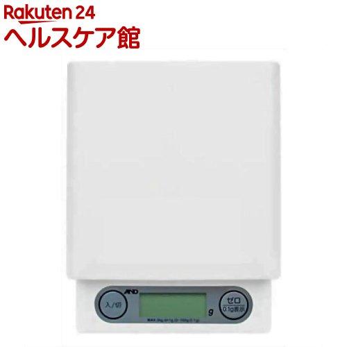 A&D デジタルホームスケール ホワイト UH-3201W(1コ入)【A&D(エーアンドデイ)】