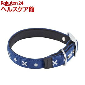 ペティオ BASIC PLUS クロスダイヤカラー Lサイズ ブルー(1個)【ペティオ(Petio)】