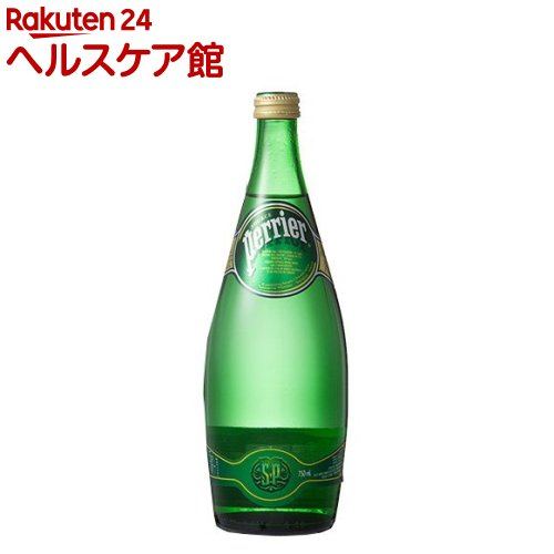 ペリエ ナチュラル 炭酸水(750mL*12本入)【ペリエ(Perrier)】[炭酸水 ミネラルウォーター 水]