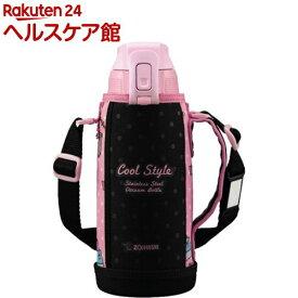 象印 ステンレスクールボトル 0.8L SD-FA08-BP ピンクブラック(1コ入)【象印(ZOJIRUSHI)】[水筒]