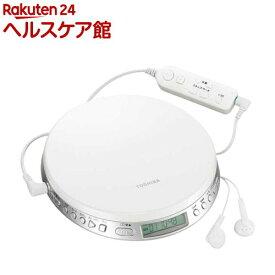 東芝 ポータブルCDプレーヤー TY-P1(W)(1台)【東芝(TOSHIBA)】