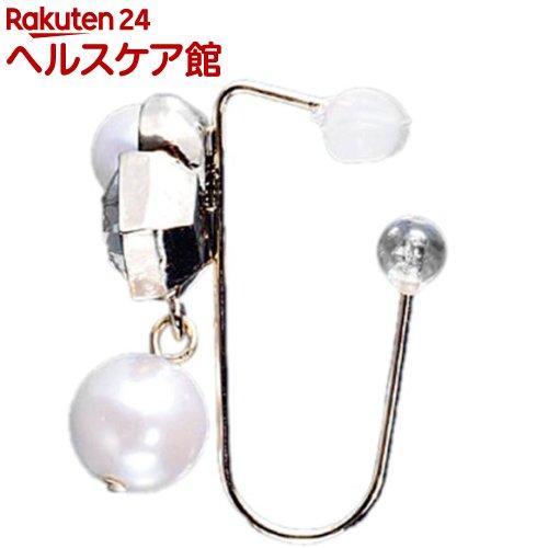 引っかけイヤリング ピナチョコ ガラスパール(1セット)