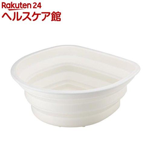 ポゼ シリコン洗桶 ホワイト(1コ入)【ポゼ(シンク廻り商品)】