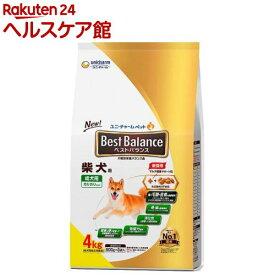 ベストバランス 柴犬用(4kg)【dalc_unicharmpet】【ベストバランス】[ドッグフード]