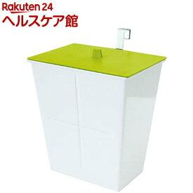 アピュイ ハングポケット フタ付き グリーン(1コ入)【アピュイ(APYUI)】[ゴミ箱]