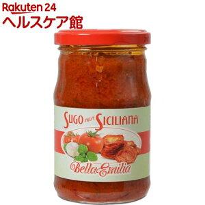 ベラエミリア シチリア風トマトソース サンドライトマトとバジル入り(290g)【more30】【ベラエミリア】