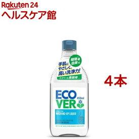 エコベール 食器用洗剤 カモミール(450ml*4本セット)【エコベール(ECOVER)】