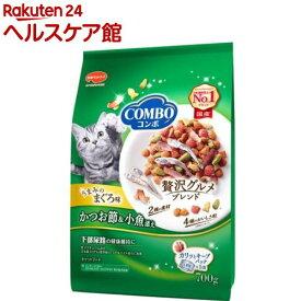 コンボ 猫下部尿路の健康維持 まぐろ味・かつお節・小魚添え(140g*5袋入)【more20】【コンボ(COMBO)】[キャットフード]