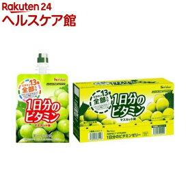 パーフェクトビタミン 1日分のビタミンゼリー マスカット味(180g*6コ入)【spts9】【spts3】